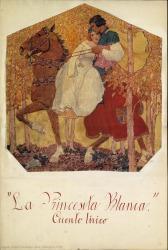 La Princesita Blanca : cuento lírico en un acto, dividido en tres cuadros, en verso, original / Rafael Fernández-Shaw ; música del maestro Francisco López.