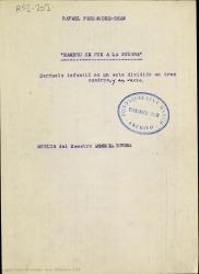 Mambrú se fue a la guerra : zarzuela infantil en un acto dividido en tres cuadros, y en verso / Rafael Fernández-Shaw ; música del maestro José L. Rivera.