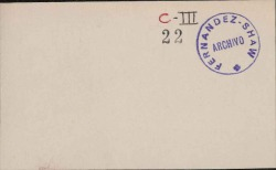Cartas del Conde Torre-Vélez a Carlos Fernández Shaw.