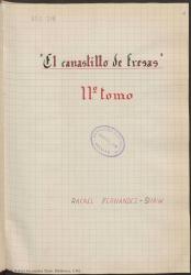 Ver ficha de la obra: El canastillo de fresas; El gaitero de Gijón; Estampas Isabelinas; María la O