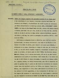 """El maestro Chueca y """"Agua, azucarillos y aguardiente"""" / Rafael Fernández-Shaw y Luis Tejedor."""