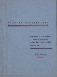 Made in los Madriles : (sainete en dos actos y cuatro cuadros) / libro de José F. Díez y Rafael Fernández-Shaw.