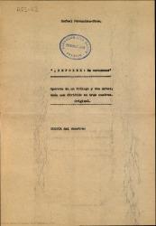 ¡Repoker! de corazones : opereta en un prólogo y dos actos, cada uno dividido en tres cuadros, original / libro de Rafael Fernández-Shaw ; música del maestro José Padilla.
