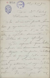 Cartas de J. Huidobro a Carlos Fernández Shaw.
