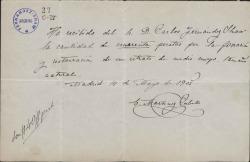 Cartas de Enrique Martínez Cubells a Carlos Fernández Shaw.