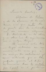 Cartas de Salvador Viniegra a Carlos Fernández Shaw.