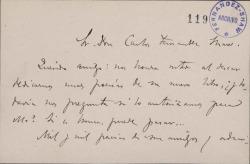 Cartas de Serafín y Joaquín Álvarez Quintero a Carlos Fernández Shaw.