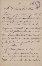 Cartas de Fiacro Yrayzoz a Carlos Fernández Shaw.