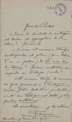 Cartas de Ramón Asensio Más a Carlos Fernández Shaw.