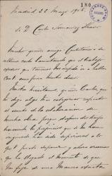 Cartas de Eduardo Montesinos a Carlos Fernández Shaw.