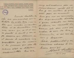 Cartas de Manuel Castro a Carlos Fernández Shaw.
