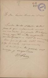 Cartas de Manuel Paso a Carlos Fernández Shaw.