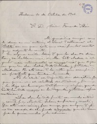 Cartas de Valentín González a Carlos Fernández Shaw.