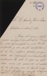 Cartas de Emilia Pardo Bazán a Carlos Fernández Shaw.