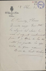 Cartas de Rosa de Saint-Aubin a Carlos Fernández Shaw.