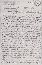 Cartas de Miguel de Unamuno a Carlos Fernández Shaw.