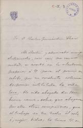 Cartas de Francisco Rodríguez Marín a Carlos Fernández Shaw.