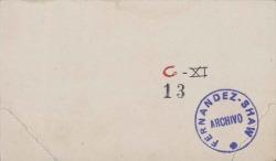 Cartas, en francés, del Marqués de Reverseaux, Embajador de Francia en Madrid, a Carlos Fernández Shaw.