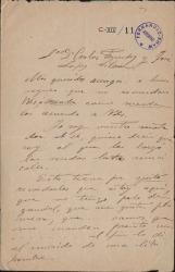 Cartas de Enrique Granados a Carlos Fernández Shaw y José López Silva.