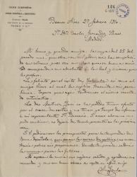 Cartas de Juan Goula a Carlos Fernández Shaw.