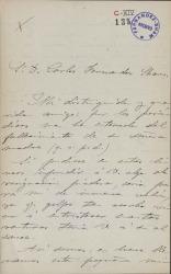 Cartas de Joaquín Larregla a Carlos Fernández Shaw.
