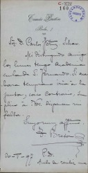 Cartas de Tomás Bretón a Carlos Fernández Shaw.
