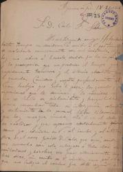 Cartas de Conrado del Campo a Carlos Fernández Shaw.