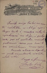 Cartas de Justo Vila a Carlos Fernández Shaw.