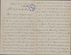 Cartas de Manuel Fernández Grajal a Carlos Fernández Shaw.