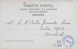 Cartas de Enrique López del Toro a Carlos Fernández Shaw.