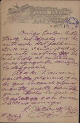 Cartas de Joaquín Valverde a Carlos Fernández Shaw.