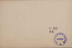 Cartas de Vicente Peydró a Carlos Fernández Shaw.