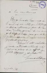 Cartas de Francisco Serrano de la Pedrosa a Carlos Fernández Shaw.