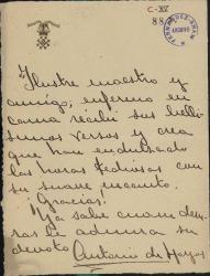 Cartas de Antonio de Hoyos a Carlos Fernández Shaw.