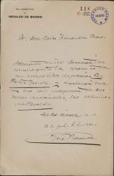 Cartas de José Rocamora a Carlos Fernández Shaw.