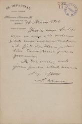 Cartas de José de Laserna a Carlos Fernández Shaw.