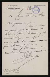 Cartas de Antonio Garrido a Carlos Fernández Shaw.