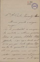 Cartas de Narciso Sentenach a Carlos Fernández Shaw.