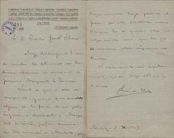 Cartas de José de Val a Carlos Fernández Shaw.