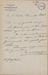Cartas de José del Castillo y Soriano a Carlos Fernández Shaw.