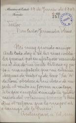Cartas de Antonio de Zayas a Carlos Fernández Shaw.