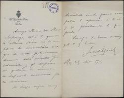 Cartas de José de Igual a Carlos Fernández Shaw.
