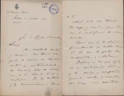 Cartas de Ramón A. Urbano a Carlos Fernández Shaw y Cecilia Iturralde, su viuda.