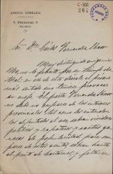 Cartas de Manuel Sawa a Carlos Fernández Shaw.