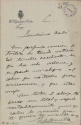 Cartas de Fernando Soldevilla a Carlos Fernández Shaw.