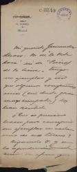 Cartas de Antonio Armenta a Carlos Fernández Shaw.