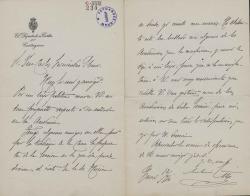 Cartas de Antonio García Alix a Carlos Fernández Shaw.