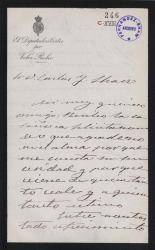 Cartas de Agustín de la Serna a Carlos Fernández Shaw.