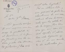 Cartas de Luis Maldonado a Carlos Fernández Shaw.