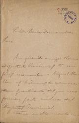 Cartas de José Moreno Nieto a Carlos Fernández Shaw.